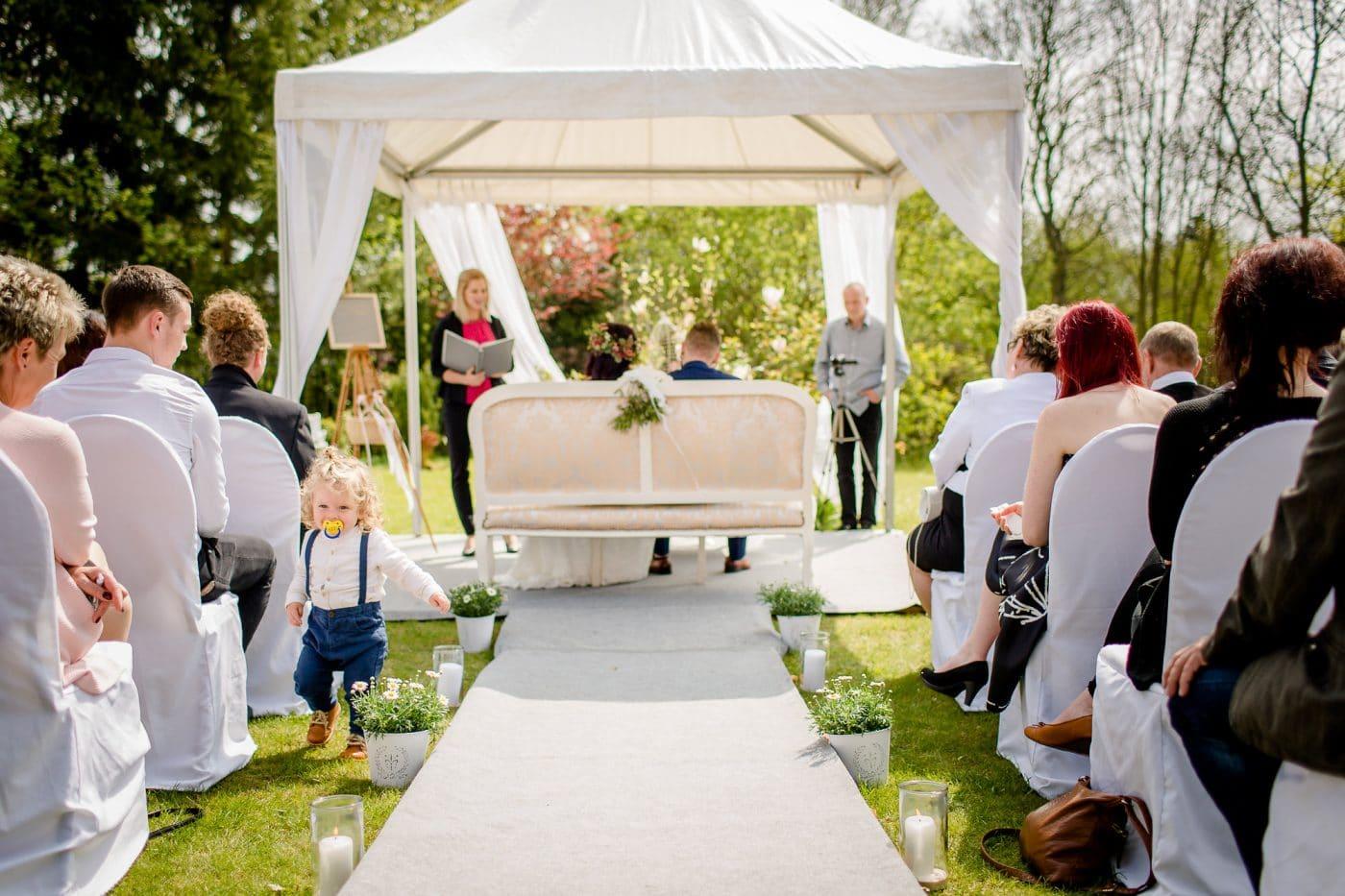Hochzeitsrede im Garten der Residenz Jena